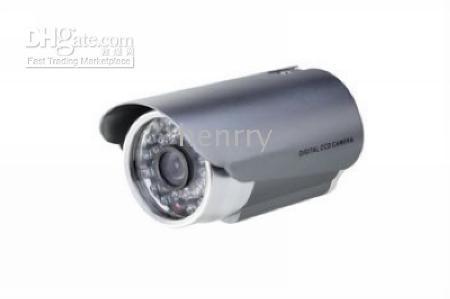 Wholesale CCTV Security color sony LED TVL m IR distance mm lens IR waterproof CCD Camera