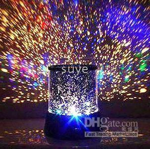 Wholesale Colourful stars star beauty cosmos light projector romantic gift