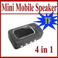 Wholesale New Mobile Phone Speaker Mini MP3 player TF card reader A3