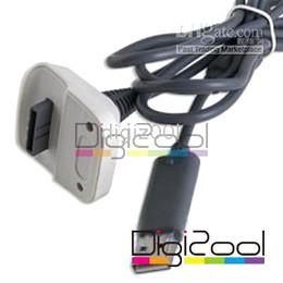 2016 charge de contrôleur sans fil xbox Manette sans fil 2en1 Chargeur Câble pour Xbox 360 Play et 100pcs Charge Cable Kit charge de contrôleur sans fil xbox offres