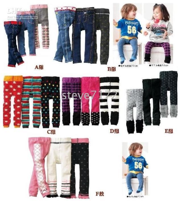 Wholesale Nissen pants tights children s pant shorts tight kids trousers short leggings nine cent pant CL632