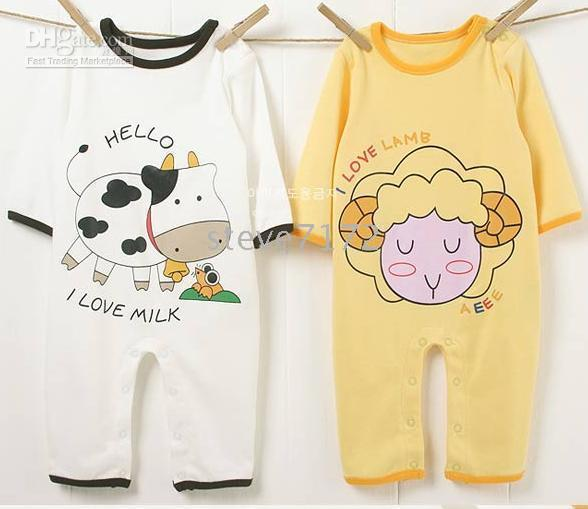for Spring/Autumn Coverall Spring / Autumn baby rompers bodysuits onesies jumpers pajamas hoodies baby shirts romper hat costume outfits CL698