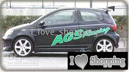 Cheap VITZ VGS racing whole Car Decal Sticker Auto Decals Stickers ZC0029
