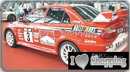 Cheap Racing car style whole Car Decal Sticker Auto Decals Stickers ZC0111