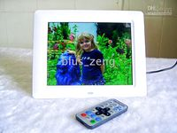 Wholesale 8 inch Digital Photo Frame Photo Music Video Player Ebook Calendar Clock D802 Christmas Gif