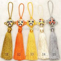 Wholesale Car Ornaments Hanging Accessories High quality China knot Car Decor Handcrafts Hanging Free