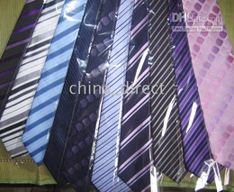 SILK Tie Handmade Necktie ties Neck TIE New with bag 28pcs lot GORGEOUS #1754