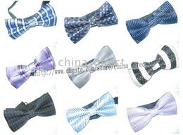 Tuxedo PreTied Black Bow Tie Tie Necktie Satin Adjustable120pcs lot new design #1774