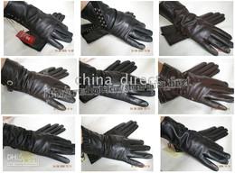 Leather gloves glove skin gloves LEATHER GLOVES 20pairs lot #1342