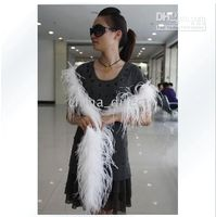 Wholesale new Ostrich Feather Boa Feather Scarf High Quality Ostrich Feather Boa for Special Occasions