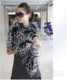 Ostrich Feather Boa Feather Scarf Ostrich Feather Boa for Special Occasions 10 pcs lot