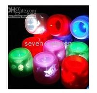 Wholesale DHL Gift Electronic Voice Control Flameless Candle Light Magic LED Candles for Xmas Halloween