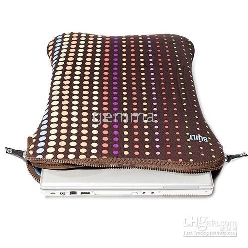 Wholesale BUILT NY INCH LAPTOP SLEEVE NOTEBOOK CASE DOTS DROP SHIPPING