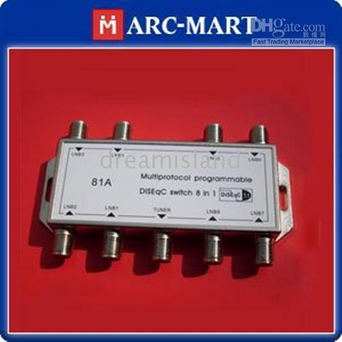 Wholesale Multiprotocol Programmable DISEqC Switch in Satellites FTA TV x1 Switch JB556