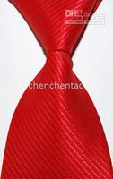 Wholesale Stripe JACQUARD WOVEN Silk Mens Tie Necktie new styles Mens Ties Necktie dress tie new