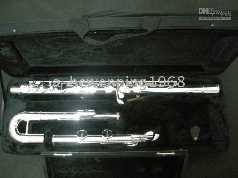 Wholesale Sliver Great bigger tenor bass flute instruments A