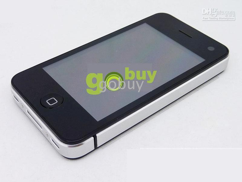 quadband tv phone - 1PCS G09 Inch Cell Phone TV WIFI QuadBand Java V812 Dual Sim Dual Standby Quad Band