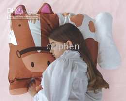 Wholesale classic style pet pillow Pony children pillow cozy companion pillowcases styles