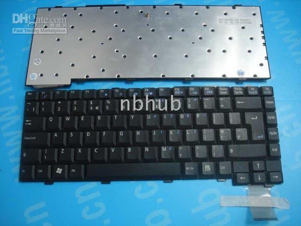 Wholesale ASUS A2000G A2H A2500G UK Laptop Keyboard K991162B1 N7F1KUKB1