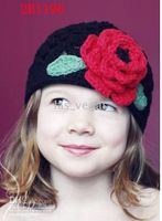 Wholesale Children s Caps baby crochet hat knitting hat beanies flower hat baby hats cap embroider dicers