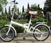Wholesale Folding bike Irish white A Shimano speed shock absorber Kenda Tires