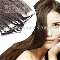 Wholesale Sets of quot REMY Tape Skin Hair Extension amp g Human Hair Extensions c02