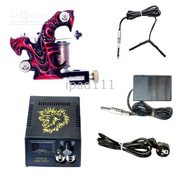 Wholesale Mini Tattoo Kit Mini Tattoo Kits with Handmade Machine Gun