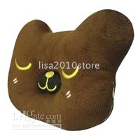 Wholesale 1 Bear Fruit Shape Music Speaker Cushion Pillow mm hole for mp3 mp4 mobile phone
