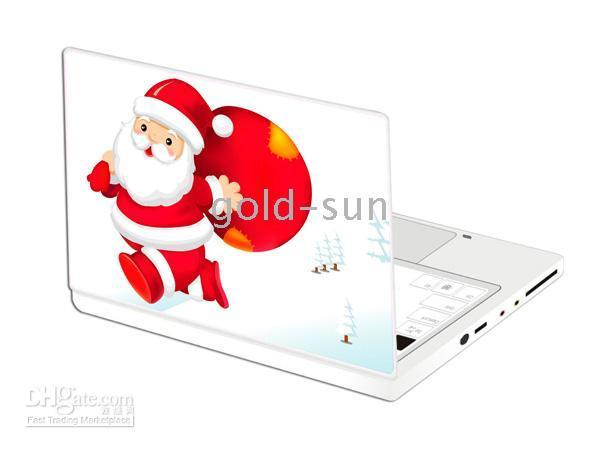 Wholesale Christmas gift Vinyl Skin Sticker for laptop laptop skin color laptop design Halloween