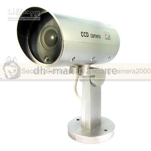 Wholesale Intelligent Fake CCTV Camera Waterproof IP65 with Motion Sensor
