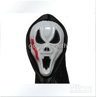 Wholesale 10x Halloween Mask Costume Props Demon Ghost Horror Evil Clown Masquerade Masks Centipede Sharpteeth