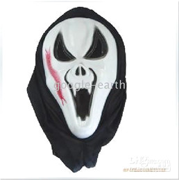Wholesale 20x Halloween Mask Costume Props Demon Ghost Horror Evil Masquerade Masks Centipede Sharpteeth