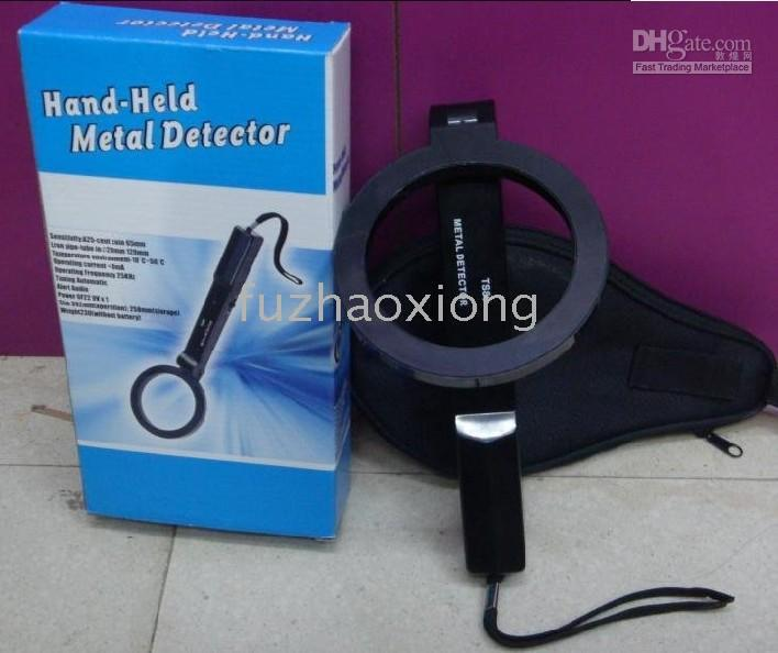 Wholesale BD TS80 Round Folding Metal Detector Hand Held Metal Detector Detecting metal articles
