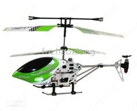Wholesale Brand New Mini A Remote Control LED CH RC Helicopter R C Helicopter Green Christmas Gift Sample