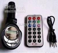 Wholesale Selling by Car MP3 Player FM Transmitter USB PenDrive SD MMC Slot