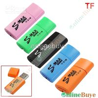 Wholesale USB2 Micro SD TF Plug amp Play Memory Card Reader Flash memory cards for mobile phones