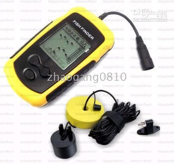 electronic lcd sonar fish detector portable fish finder/unique, Fish Finder