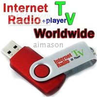Wholesale USB Plug Worldwide internet radio and TV player