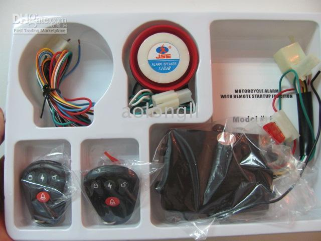 motorcycle alarm - Hot Motorcycle Immobilizer System and Security Alarm with Remote