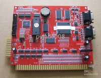 Wholesale PCB Multi game Africa in double screen Red board