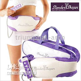 Wholesale 1 Slender Shaper Slimming belt Massage belt fat burning oscillating slim belts NIB