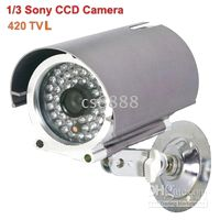 Wholesale Brand Newest TVL inch SONY CCD Digital Color Infrared Camera mm Lens m IR light Distance