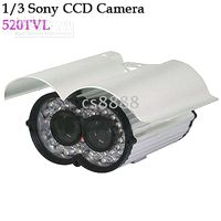 Wholesale Brand New inch SONY TV Lines IR Waterproof CCD Video Camera with CCD Inside mm Lens