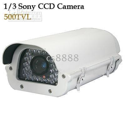 Wholesale Brand New inch SONY TV Lines IR Waterproof CCD Camera with mm lens and Lux IR ON LEDs