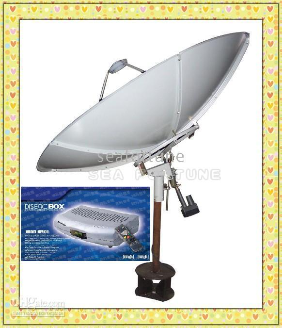satellite dish antenna - Novelty Items C Band cm Prime focus satellite antenna satellite dish D Box99 Drop Shipping