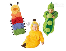 5pcs Polar fleece Costume baby sleeping bag - Baby caterpillar sleeping bags infant sleeping sacks W