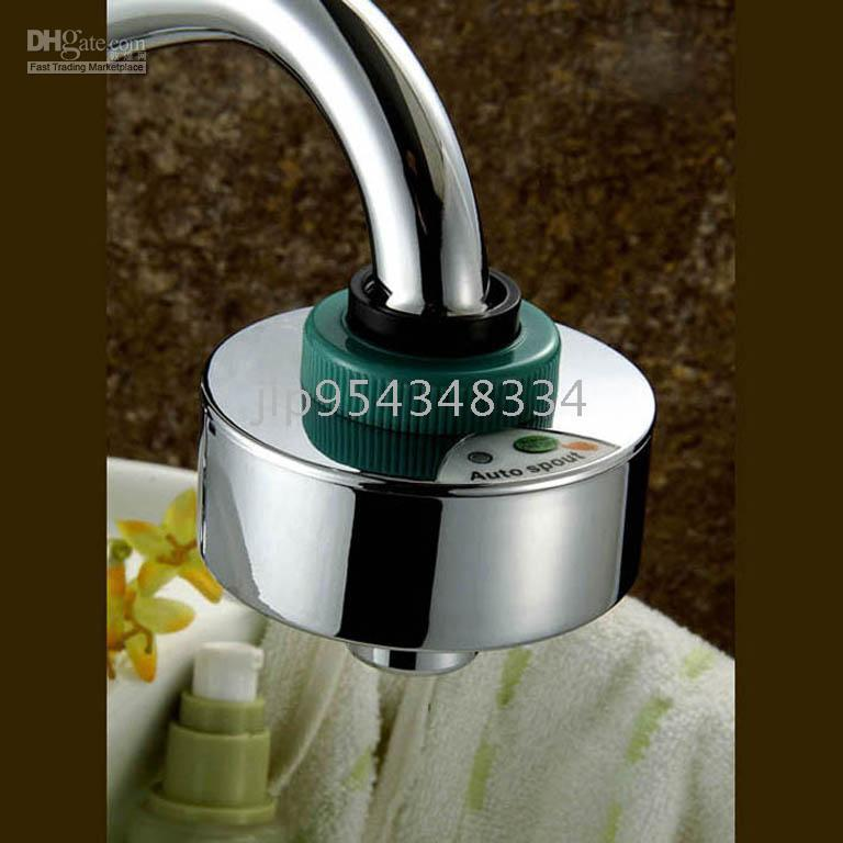 Wholesale Automatic tap adapter Save Water amp DIY installation smart amp touch free matched all faucets bubbler