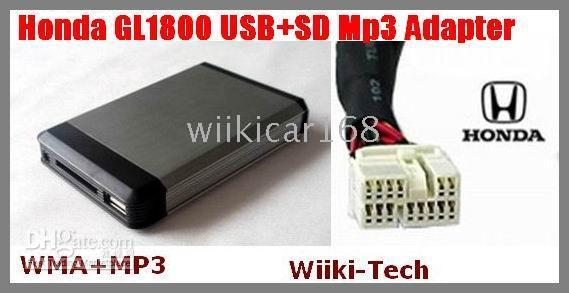 Wholesale USB SD AUX MP3 Player Interface for HONDA GoldWing GL1800