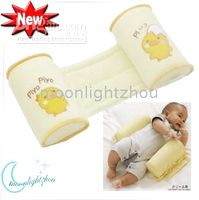 Wholesale Baby Pillows Children s Comforter Sleeping Infant Shaped Rollover Prevention Pillow yellow