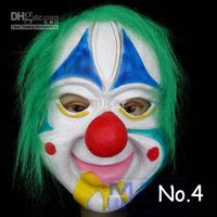 Wholesale Clown mask Halloween costumes high grade latex clown mask Scream Halloween mask from MICAR